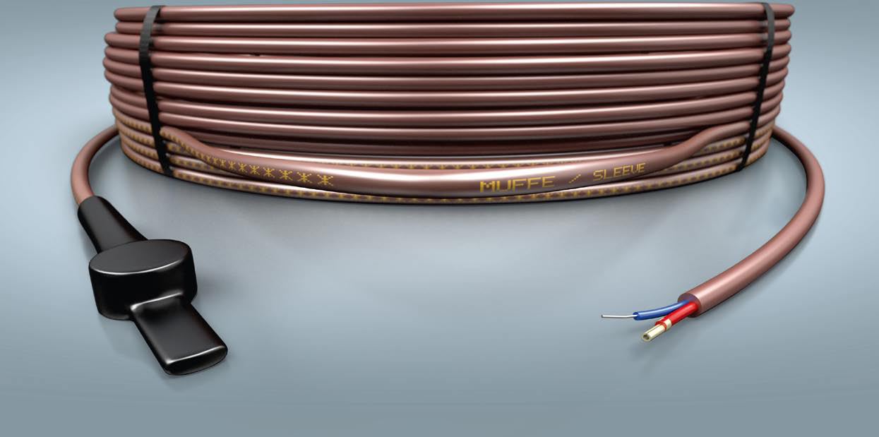 C bles et cordons chauffants eltrace cable et cordon - Cable electrique pour eclairage exterieur ...